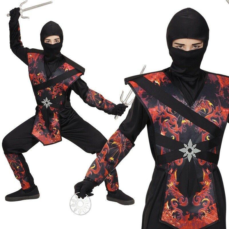 Dragon Fire Ninja Ninjago Edles Kinder Kostum Samurai Jungen