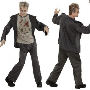 ZOMBIE Halloween Herren Kostüm Horror -NEU- Jacke mit zerrissenem T-Shirt, Hose