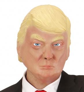 DONALD TRUMP Maske aus Latex für Erwachsene Kostüm President USA #'02120