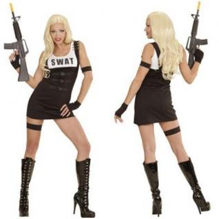 Sexy SWAT Polizei Cop Kostüm Damen Uniform Outfit S.W.A.T. 34 36 38 40 42 44