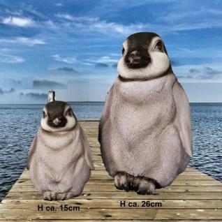 Pinguin Baby Garten Deko Figur Polyresin wetterfest Figur lebensecht AUSWAHL