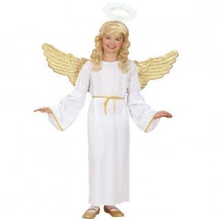 WOW Engel Kinder Kostüm Gr. 140 PREISHIT Engelsverkleidung Engelskostüm 0254