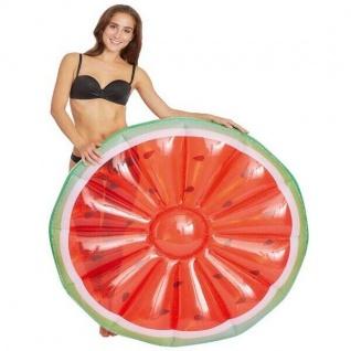 XXL Wassermelone Luftmatratze Schwimmreifen Schwimmring Wasserspielzeug #7647