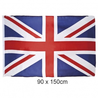 Fahne Flagge United Kingdom Union Jack UK 1, 5 Meter x 0, 9 Meter mit Oesen #620