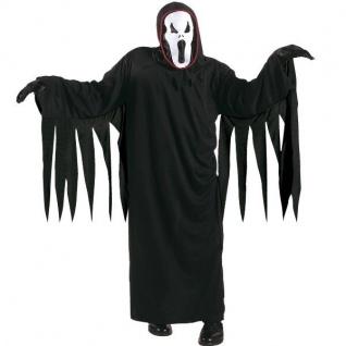 Kinder Kostüm SCHREIENDER GEIST ?SCREAM Gr. 128 Halloween Ghost Horror #8116