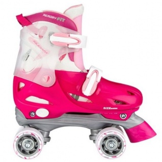 Kinder Rollschuhe Rollerskater Größe verstellbar 30 31 32 33 (FRZ) Skater #52SD