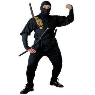 Ninja Kostum Samurai Ninjakostum Manner Fasching S M L S3919