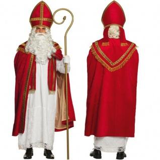Profi Sankt Nikolaus Weihnachtsmann Kostüm Bischof Weihnachten -Theater Qualität