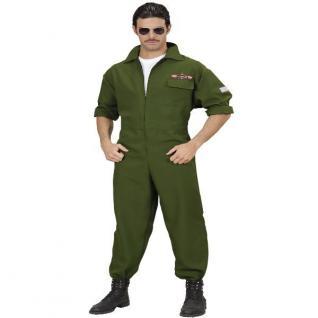 Top Gun KAMPF JET TomCat PILOTEN OVERALL Herren Kostüm Karneval Gr. S-XL