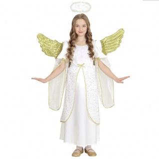 Engel Kostüm für Kinder ANGELO Engelskostüm Engelkleid Kleid 116 128 140 158
