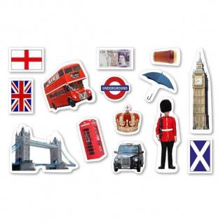 42tlg XXL Konfetti ENGLAND Länder Streu Deko London Union Jack Tower Big Ben