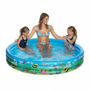 3 Ring Pool 178 cm Flowers & Friends Kinder Planschbecken Swimmingpool #7757