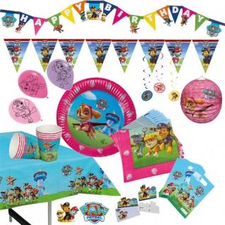 Girls Kinder Geburtstag Set neu PAW PATROL RIESEN AUSWAHL - Hund Party Deko