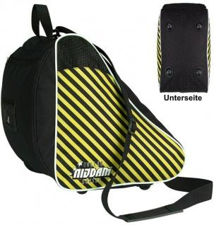 Nijdam Skate Tasche Skaterbag Inliner- Schlittschuh -Tasche Gelb/Schwarz