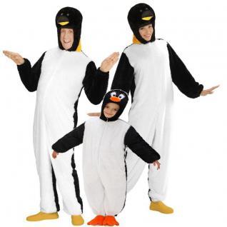 PINGUIN PLÜSCH KOSTÜM für Kinder und Erwachsene - Unisex Tier Zoo Kostüm