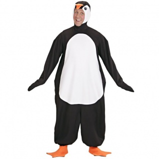 PINGUIN PLÜSCH KOSTÜM M/L 175 cm Unisex Karneval Fasching Tiere Zoo Märchen