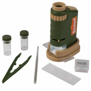 Scout Mini Mikroskop-Set, 8-teilig - 40-fache Vergrößerung - #9444