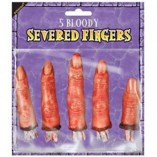 HALLOWEEN abgehackte Finger für PARTY DEKORATION 394612
