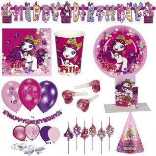Filly Fairy - Alles zum Kindergeburtstag - Geburtstag Pferde Party Set Kinder