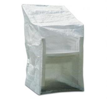 Schutzhaube Schutzhülle Transparent 63x66x117 cm Möbelschutzhülle Stühle+Relax
