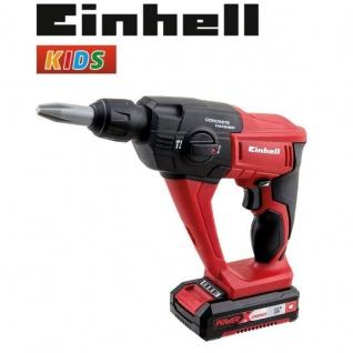 EINHELL Kinder Werkzeug Akku Bohrhammer Bohrmaschine Spielwerkzeug 41761 - Vorschau