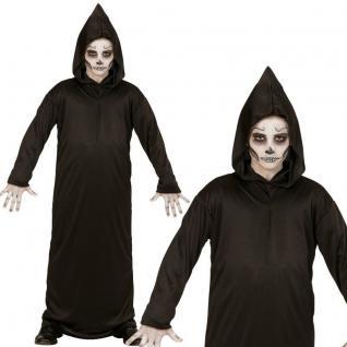 SENSENMANN Grim Reaper Tod Halloween Kostüm für Kinder Jungen Karneval Fasching