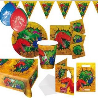 DINOS & T-REX Kinder Motto Party Kindergeburtstag Geburtstag RIESENAUSWAHL