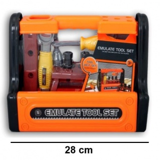 WERKZEUGKISTE Kinder Werkzeug Set Werkzeugbox mit Werkbank viel Zubehor #8766
