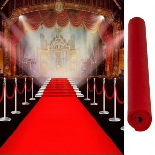 Roter Teppich VIP Läufer Event Teppich Hochzeitsteppich 4, 60 m x 0, 60 m