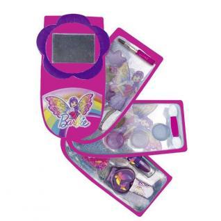 Kinder Make-Up Kit Barbie -Handy- Schmink Set mit Lippenstift Lidschatten #2003