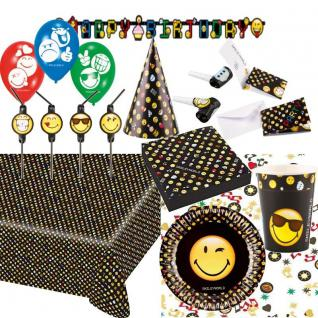 SMILEY-WORLD Alles zum Kinder Geburtstag - Mottoparty Deko Party NEU