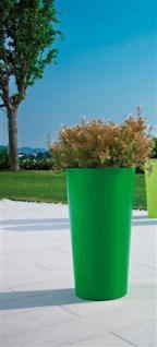 PFLANZKÜBEL TUIT grasgrün Ø33cm Höhe 61cm Blumenkübel Blumensäule Pflanzensäule