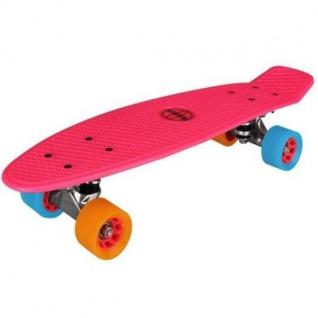 Nijdam® Retro Skateboard Pink Komplett Board Penny Minicruiser Mini Cruiser 52NF