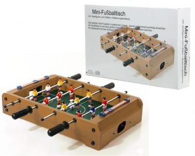 MINI KICKER Fussballtisch Kickertisch Tisch Fußball Fussballspiel