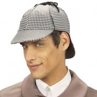 Detektiv Sherlock Holmes DEERSTALKER MÜTZE Kostüm Zubehör Hut Party 3323