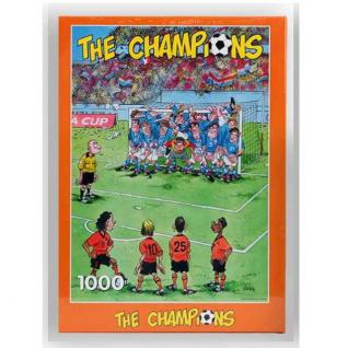 Erwachsenen Puzzle 1000 Teile Sport Fun Motive Fussball Comic NEU/OVP 30101