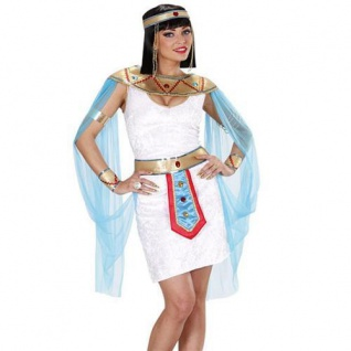 ÄGYPTISCHE KÖNIGIN CLEOPATRA Damen Kostüm 34 36 38 40 42 44 46