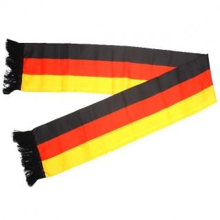 Deutschland Fan Artikel FANSCHAL Germany Schal WM+EM Neu #0725