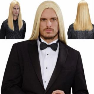 De luxe Perücke wie ECHTHAAR Herren Langhaar Gothic, Bülent blond 9202