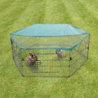 FREILAUFGEHEGE Kleintiere Kaninchen Katzen Welpenauslauf Laufstall Freigehege