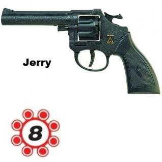 Revolver JERRY Knallpistole kinder Spielzeug Pistole zum Spielen / Karneval