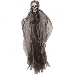 WOW DEKO SKELETT 80 cm Totenkopf Halloween Hängedekoration Horror #383