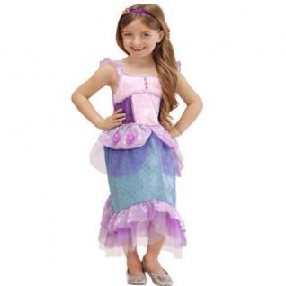 Meerjungfrau Nixe Kostüm Kinder Meerjungfrauen Kinderkostüm 104/110 116