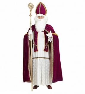 Nikolaus Kostüm Bischof Nikolauskostüm XXL/XXXL Weihnachtsmann Verkleidung #5505