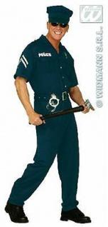 S4425 Kostüm Polizist - Cop - Gr. M 48 50 Karneval Polizisten-Kostüm Polizei