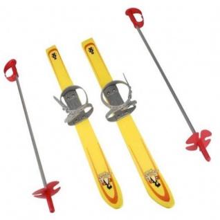 "WOW KINDER SKI-SET 66 cm "" gelb"" Baby Ski LERNSKI Babyski Ski"