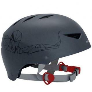 SKATER Helm anthrazit BMX- und Skaterhelm Freestyle Fahrradhelm Gr 48 - 61 cm