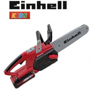 EINHELL Kinder Werkzeug Akku Kettensäge mit Sound Säge Spielwerkzeug 41764