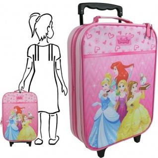 Disney Princess Prinzessin pink Kinder Koffer Trolley Kinder Handgepäck #9984