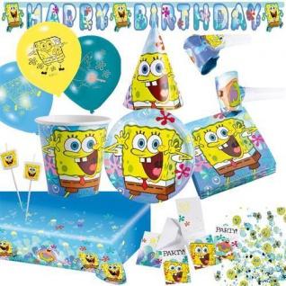 SPONGEBOB Kindergeburtstag Geburtstag Party Fete Motto AUSWAHL Teller Becher